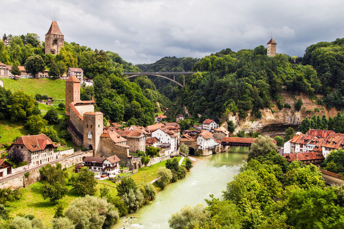 Private Trip From Zurich to Fribourg and Gruyeres