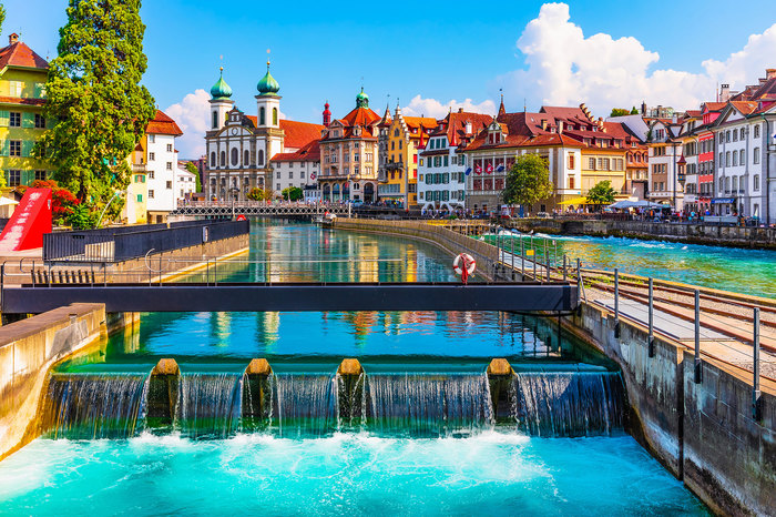 Lucerne City is truly the heart of Switzerland | Switzerland Tour