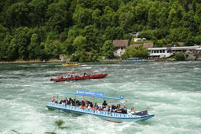 From Zurich to Black Forest - Titisee - Rhine Falls