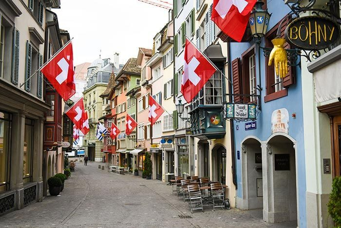 Zurich City Walking Tour