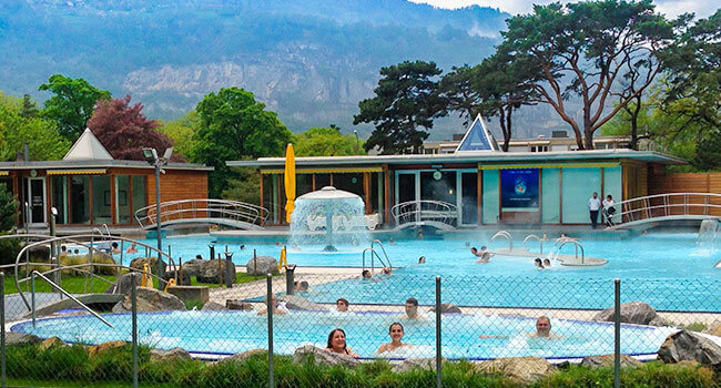 Swiss thermal bath