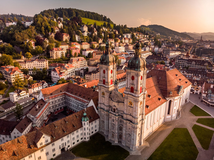 Private Trip From Zurich to St. Gallen and Appenzell